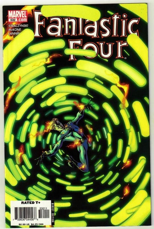 Fantastic Four #532 comic book near mint 9.4