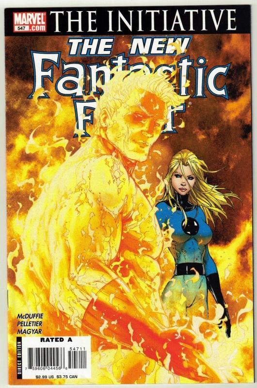 Fantastic Four #547 comic book near mint 9.4