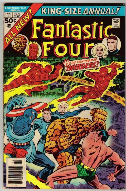 Fantastic Four annual #11 comic book very good/fine 5.0