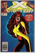 X-Factor #48 comic book near mint 9.4