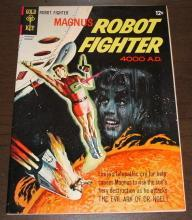 Magnus Robot Fighter #13 comic book vf+ 8.5