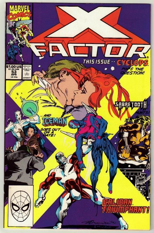 X-Factor #53 comic book near mint 9.4