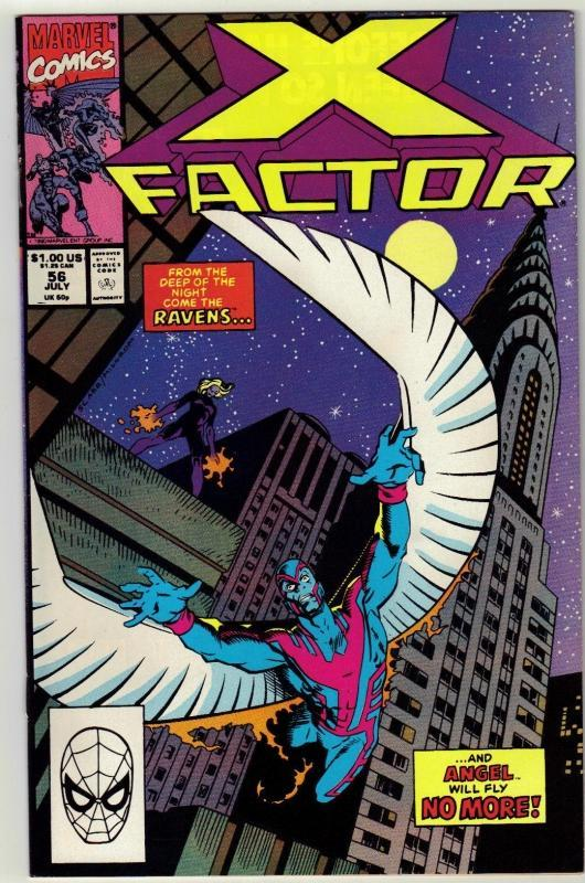 X-Factor #56 comic book near mint 9.4
