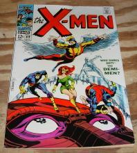 X-men #49 comic book very good 4.0
