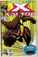 X-Factor #76 comic book near mint 9.4