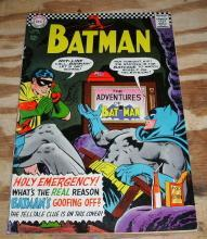 Batman #183  comic book fn 6.0