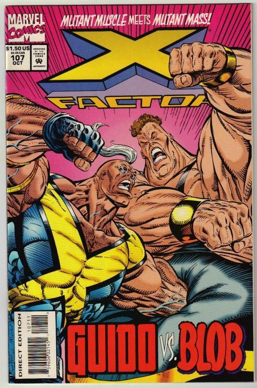 X-Factor #107 comic book near mint 9.4