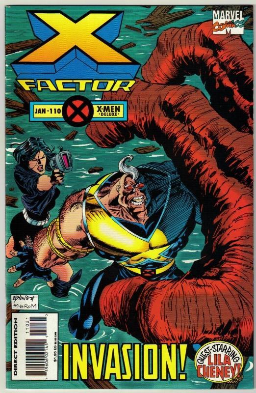 X-Factor #110 comic book near mint 9.4