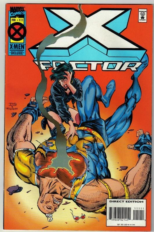 X-Factor #111 comic book near mint 9.4
