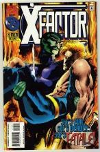 X-Factor #113 comic book near mint 9.4