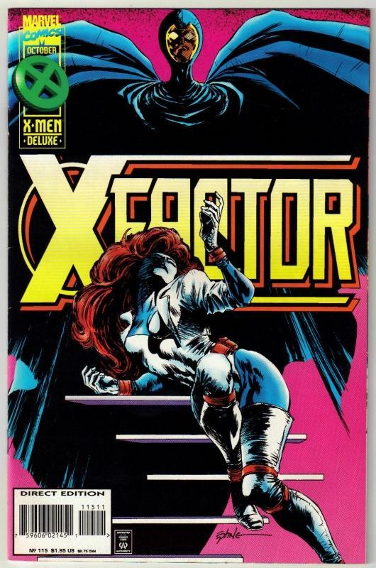 X-Factor #115 comic book near mint 9.4