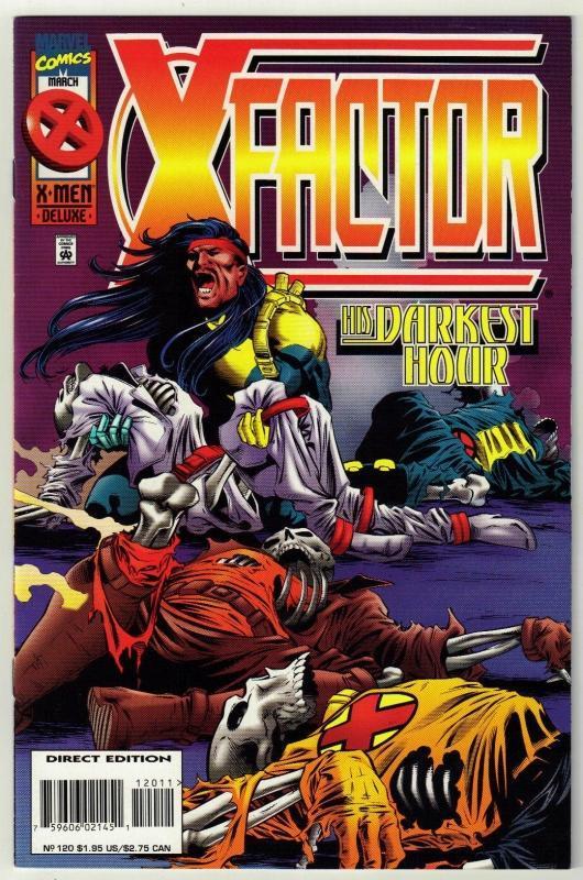 X-Factor #120 comic book near mint 9.4