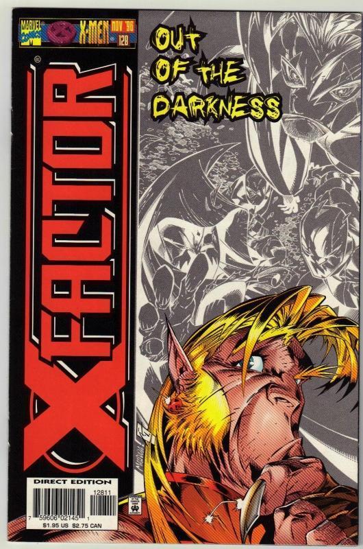 X-Factor #128 comic book near mint 9.4
