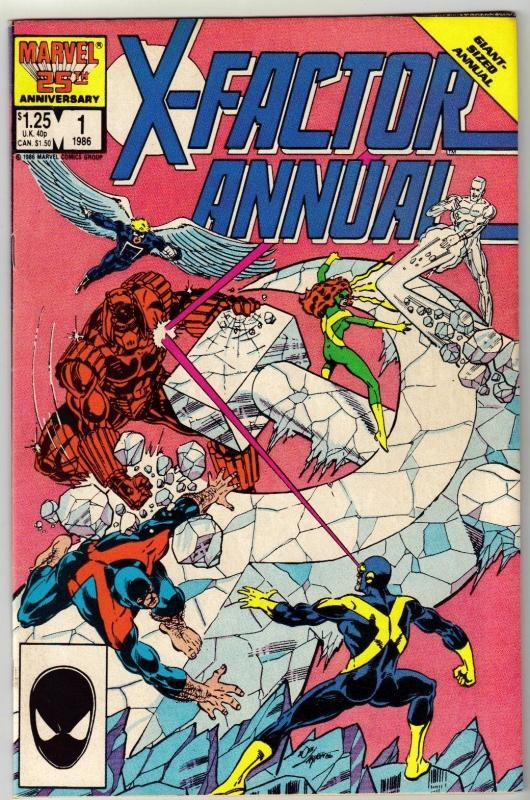 X-Factor Annual #1 comic book near mint 9.4
