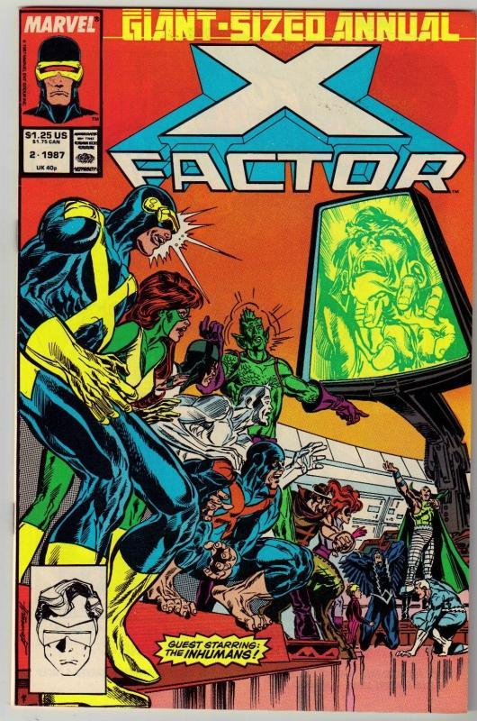 X-Factor Annual #2 comic book near mint 9.4