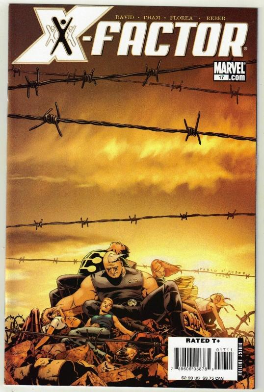 X-Factor #17 comic book near mint 9.4