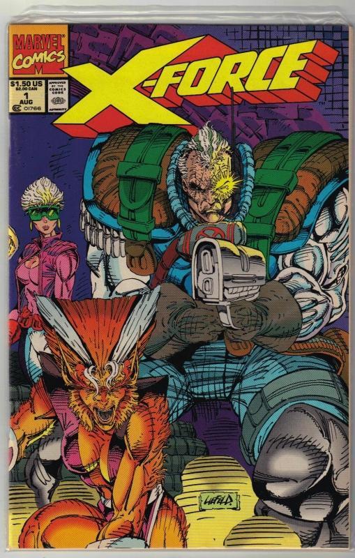 X-Force #1 comic book near mint 9.4