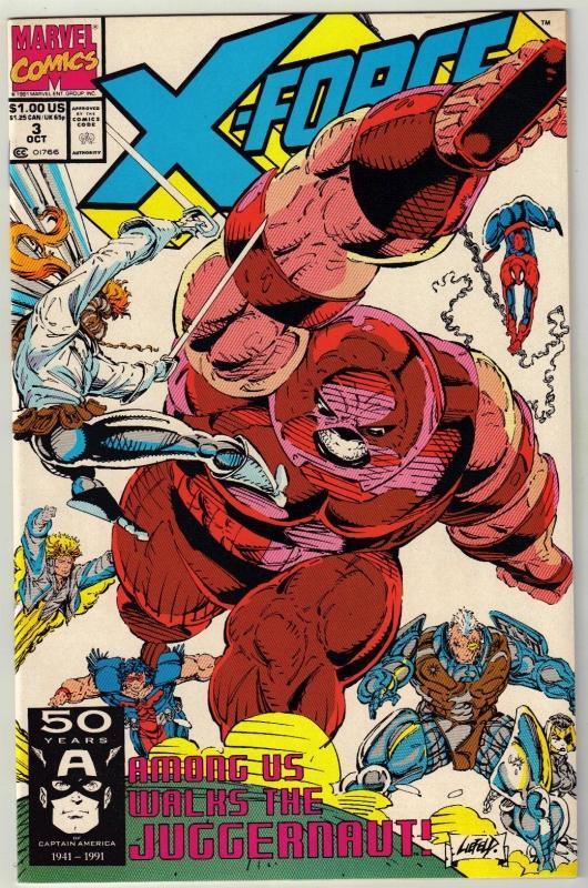 X-Force #3 comic book  mint 9.8