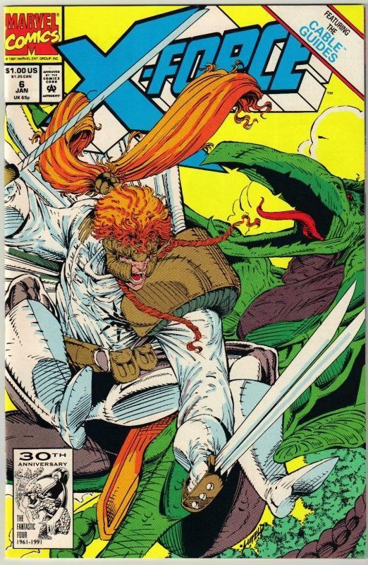 X-Force #6 comic book  mint 9.8