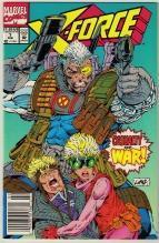 X-Force #7 comic book near mint 9.4