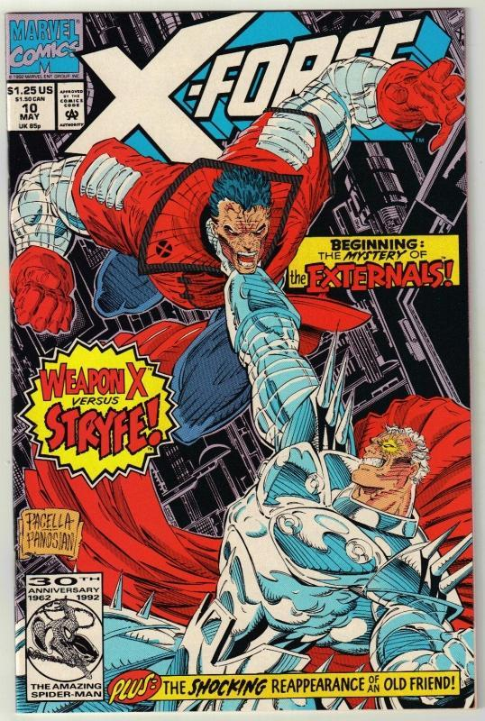 X-Force #10 comic book near mint 9.4