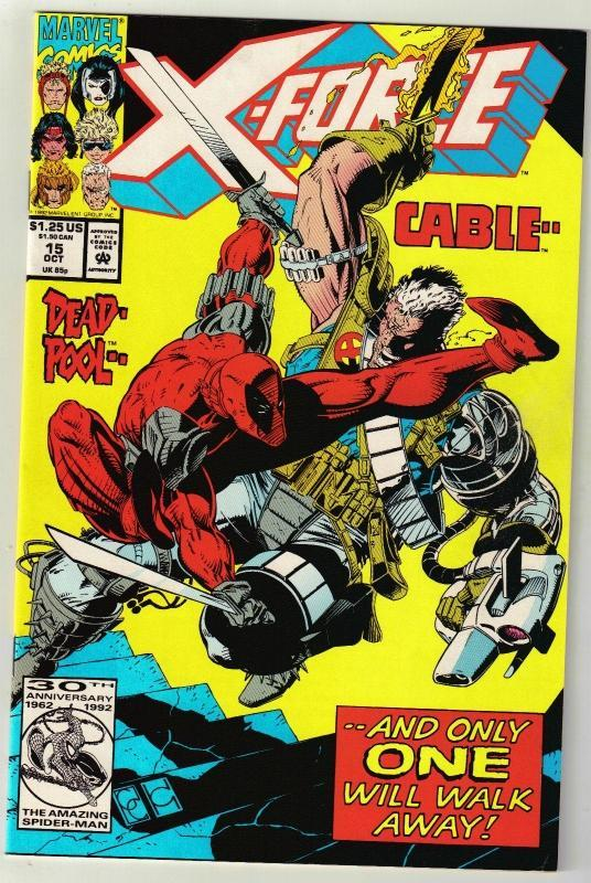X-Force #15 comic book near mint 9.4
