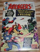 Avengers #15 comic book fine/very fine 7.0