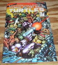 Teenage Mutant Ninja Turtles #7 first print comic book very fine/near mint 9.0