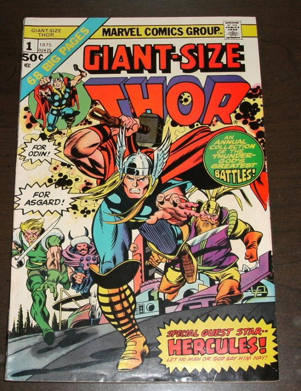 Giant-size Thor #1 comic book near mint 9.4