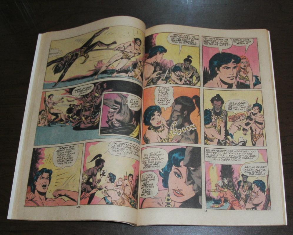Tarzan of the Apes #232 comic book fine 6.0