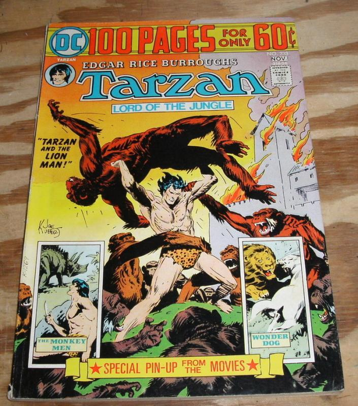 Tarzan Lord of the Jungle #233 comic book very fine 8.0