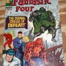 Fantastic Four #58 comic book very fine 8.0