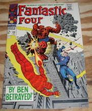 Fantastic Four #69 comic book very fine 8.0