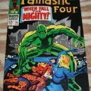 Fantastic Four #70 comic book very fine 8.0 but mvs stamp clipped