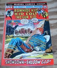 Mighty Marvel Western #20 comic book fine/very fine 7.0