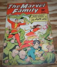 The Marvel Family #27 comic book vg/fn 5.0