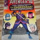The Avengers #19 comic book very good 4.0