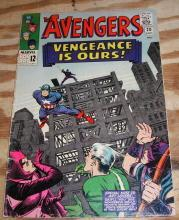 The Avengers #20 comic book vg/fn 5.0