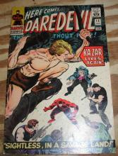 Daredevil the Man Without Fear #12 comic book very good/fine 5.0