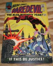 Daredevil the Man Without Fear #14 comic book very good/fine 5.0