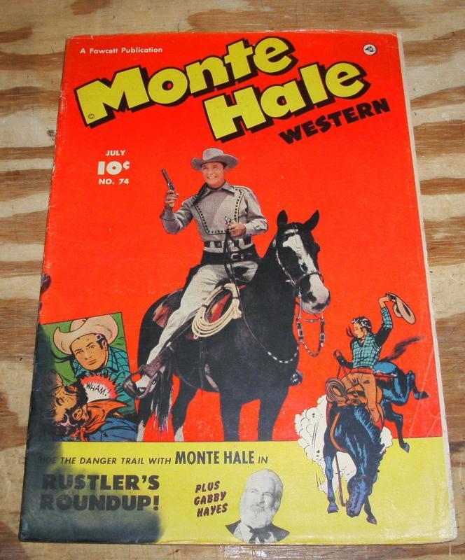 Monte Hale #74  comic good 2.0