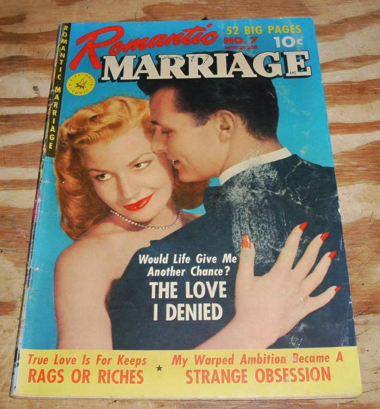 Romantic Marriage #7 comic book  vg 4.0