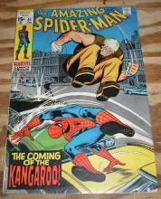 Amazing Spider-man #81 comic book vg 4.0