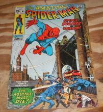 Amazing Spider-man #95 comic book very good 4.0