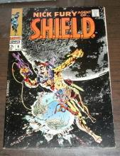Nick Fury, Agent of SHIELD  #6 comic vf 8.0