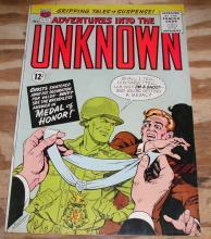 Adventures Into the Unknown #149 comic book fn 6.0
