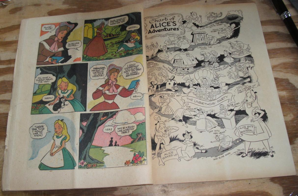 Alice In Wonderland #331 comic book good 2.0