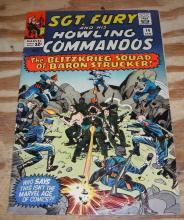 Sgt. Fury #14 comic  fn+ 6.5