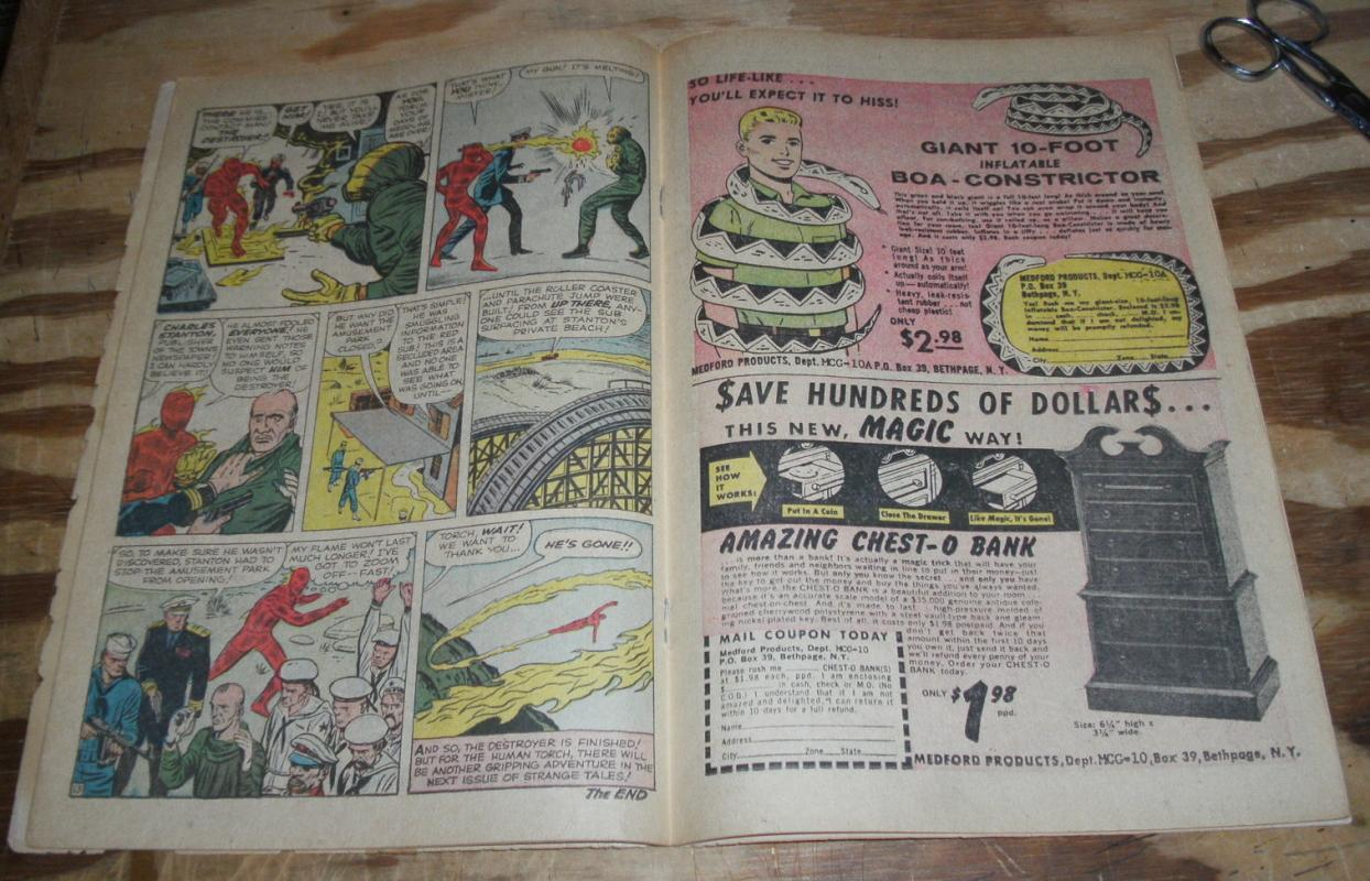 Strange Tales #101 comic g+ 2.5