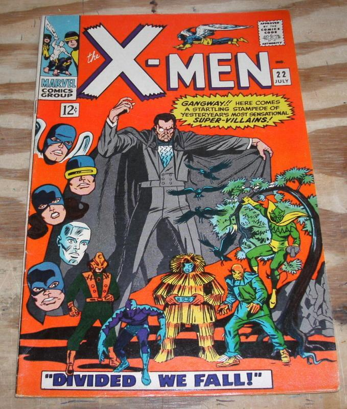 Uncanny X-men #22 comic book vf 8.0